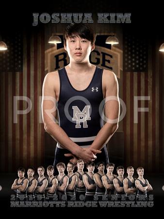 Russell Scott Photography Wrestling 2019 20 Joshua Kim Wrestling Banner